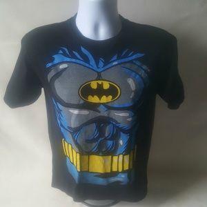 Batman boys black short sleeve t-shirt size XL